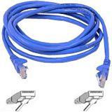 (€2,63*/1m) 3.00m InLine Cat. 6 Patchkabel S/FTP PiMF RJ45 Stecker auf RJ45 Stecker Blau halogenfrei