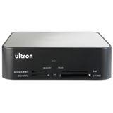 """3,5""""(8,89cm) Ultron UHD-5700 SATA USB Cardreader Alu Schwarz"""