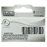 Arctic Cooling Alkaline AAA / Micro Alkaline 1.5 V 8er Pack