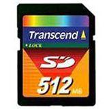 512MB Transcend TS512MSDC Secure Digital SD Karte