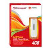 4 GB Transcend Jetflash V15 schwarz/silber USB 2.0
