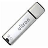 16GB Ultron MLC 53090 Silber USB 2.0 Stick