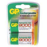 GP Batteries Akku Ni-MH D (Mono) 9000mAh / 2er Blister