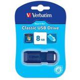 8 GB Verbatim Store `n` Go Classic blau USB 2.0