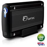 1500GB Fantec LD-H35U3 23332 Extern USB 3.0 schwarz