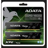 8GB ADATA XPG G Series DDR3-1600 DIMM CL9 Dual Kit