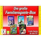 Die große Familienspiele Box 5 Spiele (PC)