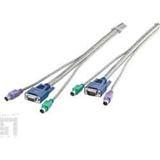 LevelOne KVM Kabel 0,90m f.KVM-0811/