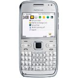 Nokia E72 NAVI zircon white