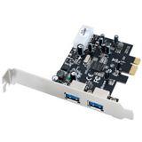 Ultron UHPe-600 2 Port PCIe x1 interner Stromanschluss retail