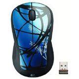 Logitech Wireless M310 Dark Vine Laser Maus Schwarz/Blau USB