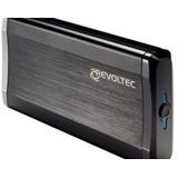 "3,5""(8,89cm) Revoltec ext USB 3.0/SATA ALU-Line EX303 / schwarz"