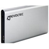 "2,5""(6,35cm)Revoltec ext USB 3.0/SATA ALU-Line II EX206 / silber"