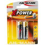ANSMANN Alkaline AA / Mignon Alkaline 1.5 V 2er Pack