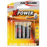 ANSMANN X-Power AAA / Micro Alkaline 1.5 V 4er Pack