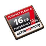 16 GB Extrememory Premium Compact Flash TypI 120x Bulk