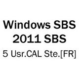 Microsoft SB Win. 2011 SBS 5 Usr.CAL Ste.[FR]