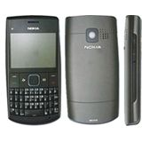 Nokia X2-01 ohne Simlock ohne Branding silber