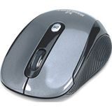 Manhattan Performance Wireless Optical Mouse USB schwarz/grau (kabellos)