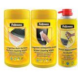Fellowes GmbH Action Pack Bildschirm/Oberflächen Reinigungskit 350ml Dose/Spraydose (9961701)