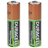 Duracell Supreme AA / Mignon Nickel-Metall-Hydrid 2400 mAh 2er Pack