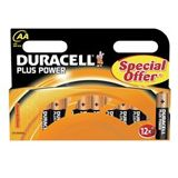 Duracell Plus Power AA / Mignon Alkaline 1.5 V 12er Pack