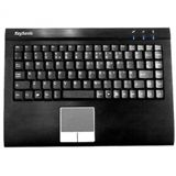 KeySonic ACK-540ALU+RF 2.4 GHz Englisch (US) schwarz (kabellos)