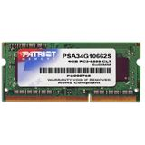 4GB Patriot Mac Series DDR3-1066 SO-DIMM CL7 Single