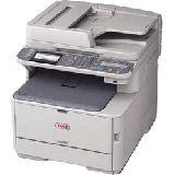 OKI MC562dnw Farblaser Drucken/Scannen/Kopieren/Faxen LAN/USB 2.0/WLAN