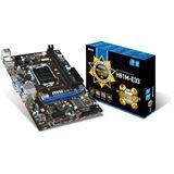 MSI H81M-E33 Intel H81 So.1150 Dual Channel DDR3 mATX Retail