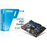 MSI G41M-P33 Combo Intel G41 So.775 Dual Channel DDR2 / DDR3 mATX Retail