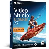 Corel Video Studio X7 Ultimate 32/64 Bit Deutsch Videosoftware Vollversion PC (DVD)