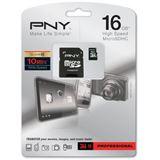 16 GB PNY Premium microSD Class 10 Retail inkl. Adapter auf SD