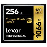 256 GB Lexar Professional Compact Flash TypI 1066x Retail