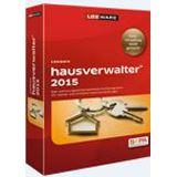 Lexware Hausverwalter 2015 32/64 Bit Deutsch Buchhaltungssoftware Vollversion PC (CD)