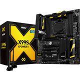 MSI X99S XPOWER AC Intel X99 So.2011-3 Quad Channel DDR4 EATX Retail