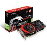 4096MB MSI GeForce GTX 970 Gaming 4G Aktiv PCIe 3.0 x16 (Retail)