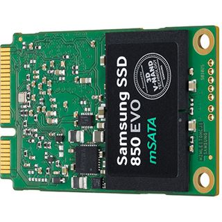 120GB Samsung 850 Evo mSATA 6Gb/s TLC Toggle (MZ-M5E120BW)