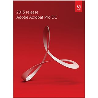 Adobe Acrobat Pro 2015 Document Cloud EDU deutsch