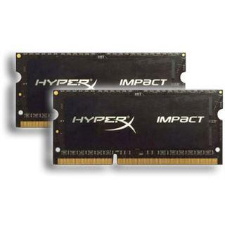 16GB HyperX Impact schwarz DDR3-1866 SO-DIMM CL11 Dual Kit
