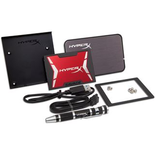 "240GB HyperX Savage Upgrade Kit 2.5"" (6.4cm) SATA 6Gb/s MLC (SHSS3B7A/240G)"