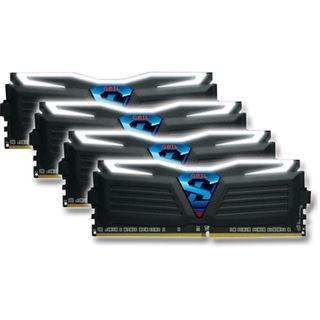 16GB GeIL Super Luce weiß DDR4-3000 DIMM CL16 Quad Kit