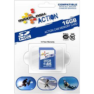 16 GB MAXFLASH Action SDHC Class 10 Retail