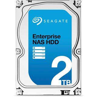 "2000GB Seagate Enterprise NAS HDD +Rescue ST2000VN0011 128MB 3.5"" (8.9cm) SATA 6Gb/s"