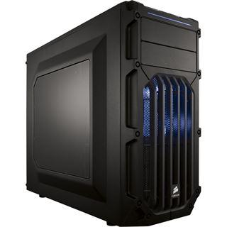 Corsair Carbide Series SPEC-03 blaue LED mit Sichtfenster Midi Tower ohne Netzteil schwarz