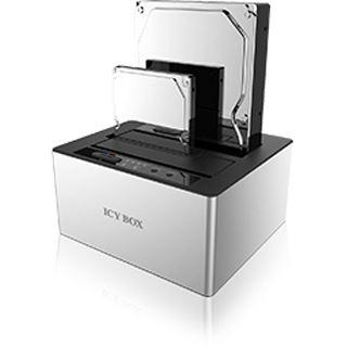 """ICY BOX IB-121CL-U3 HDD Dock für 2x 2.5"""" oder 3.5"""" SATA Festplatten (20922)"""