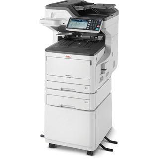 OKI MC873dnct Farblaser Drucken/Scannen/Kopieren/Faxen LAN/USB 2.0/2x RJ-11