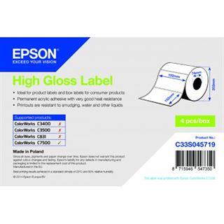 Epson Hachglanz Label 102mm x 152mm 800 Label