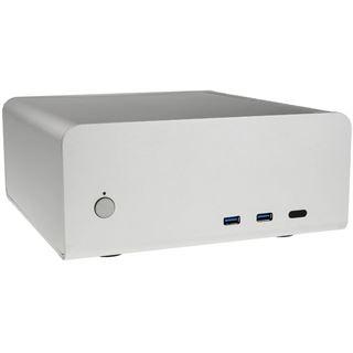 Streacom FC8 Alpha Desktop ohne Netzteil silber