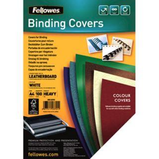 Fellowes FSC zertifizierte A4 Deckblätter Lederstruktur